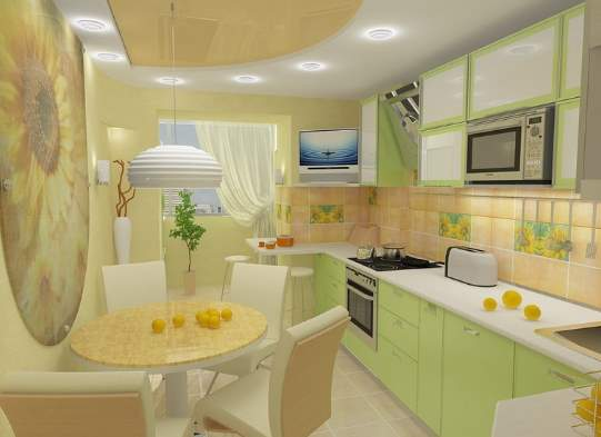 проект кухни фото