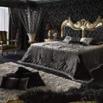 темный тон спальни