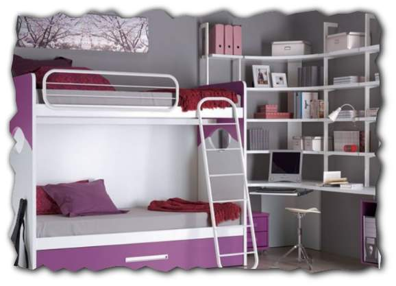 Двухъярусные кровати картинки