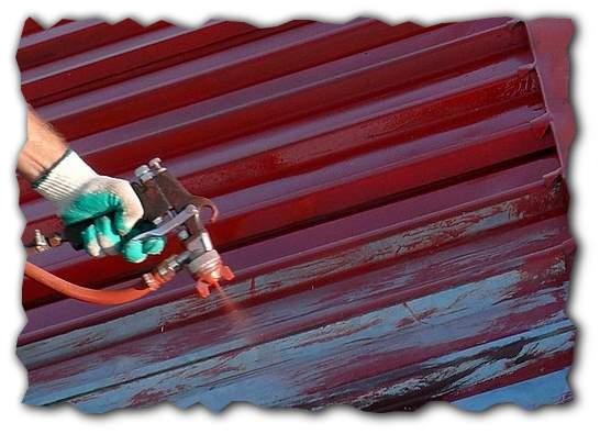 Краски для крыш