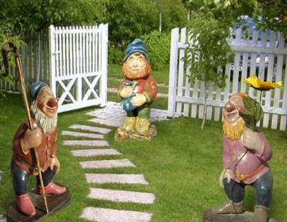 декоративные статуэтки для сада фото