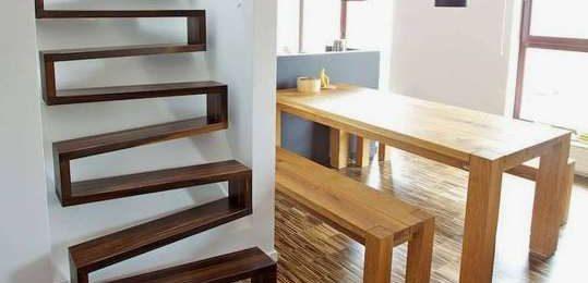 Как разместить лестницу