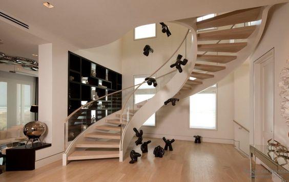 Как разместить лестницу дизайн