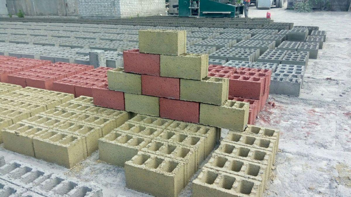 Экологически вредные шлакобетонные блоки