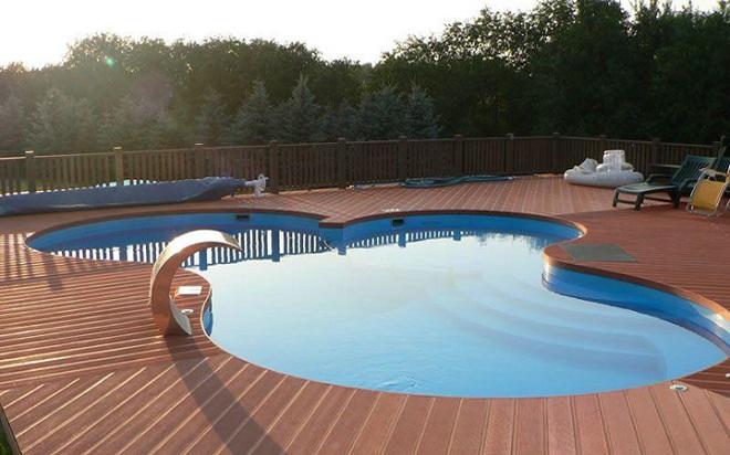 Советы по выбору места для бассейна