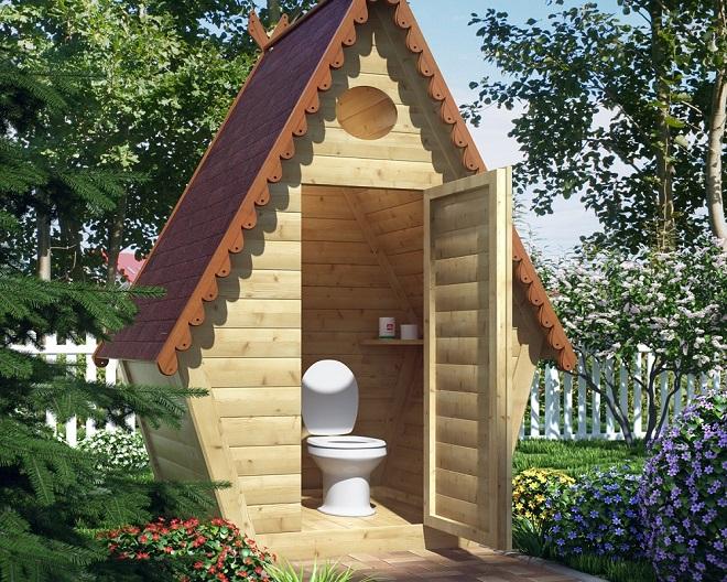 Какой туалет построить: виды и особенности