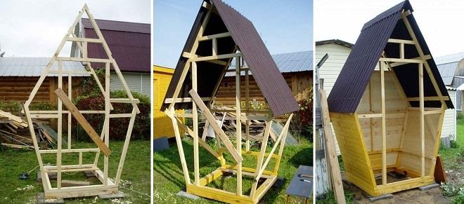 Что понадобится для постройки дачного туалета: материалы и инструменты в зависимости от выбранной конструкции