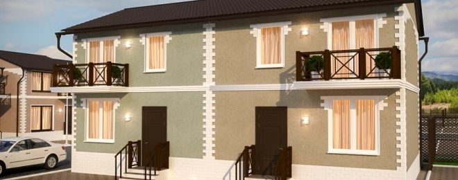 Дом на 2 хозяина с разными входами