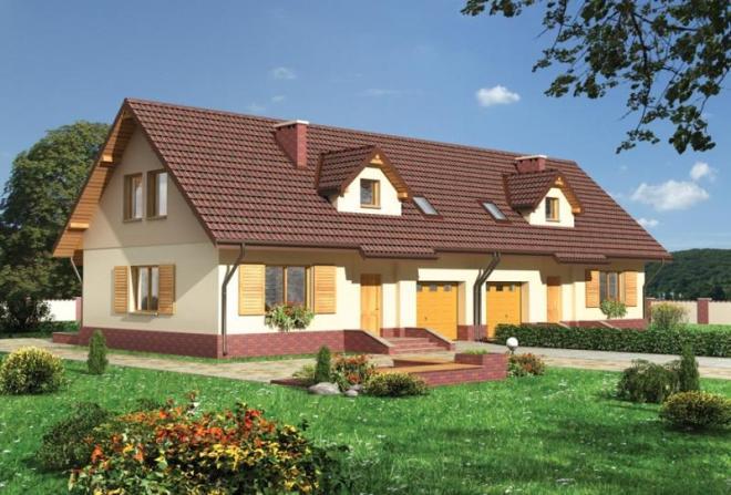 Дом на 2 хозяина с разными входами и мансардой