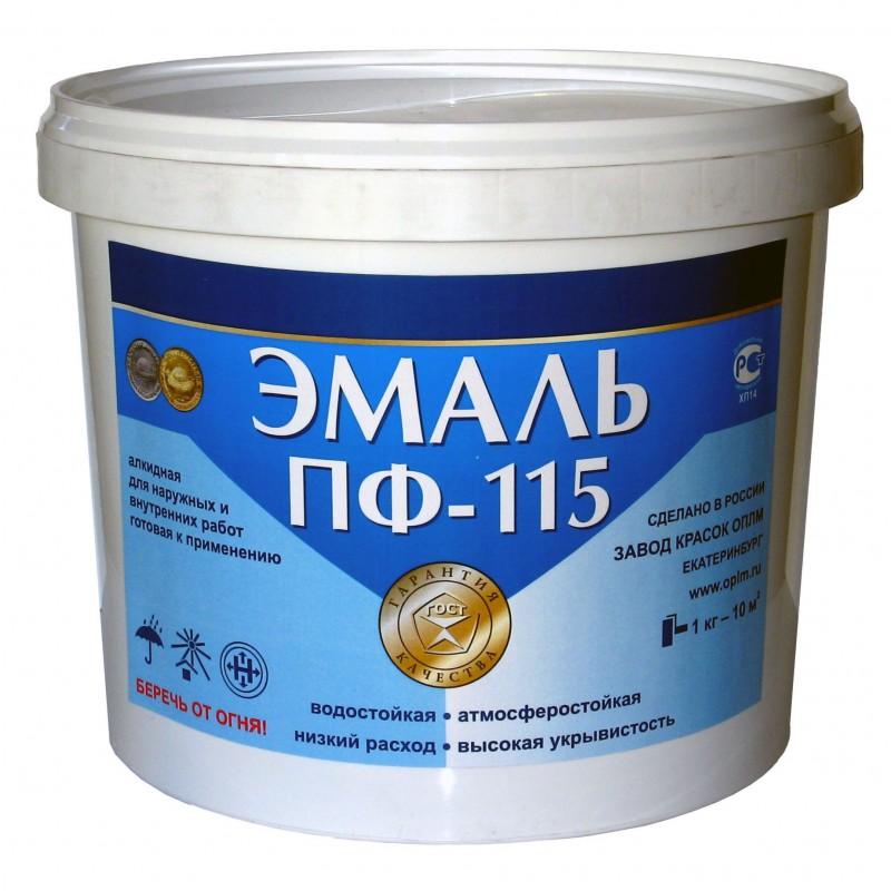 Эмаль ПФ-115