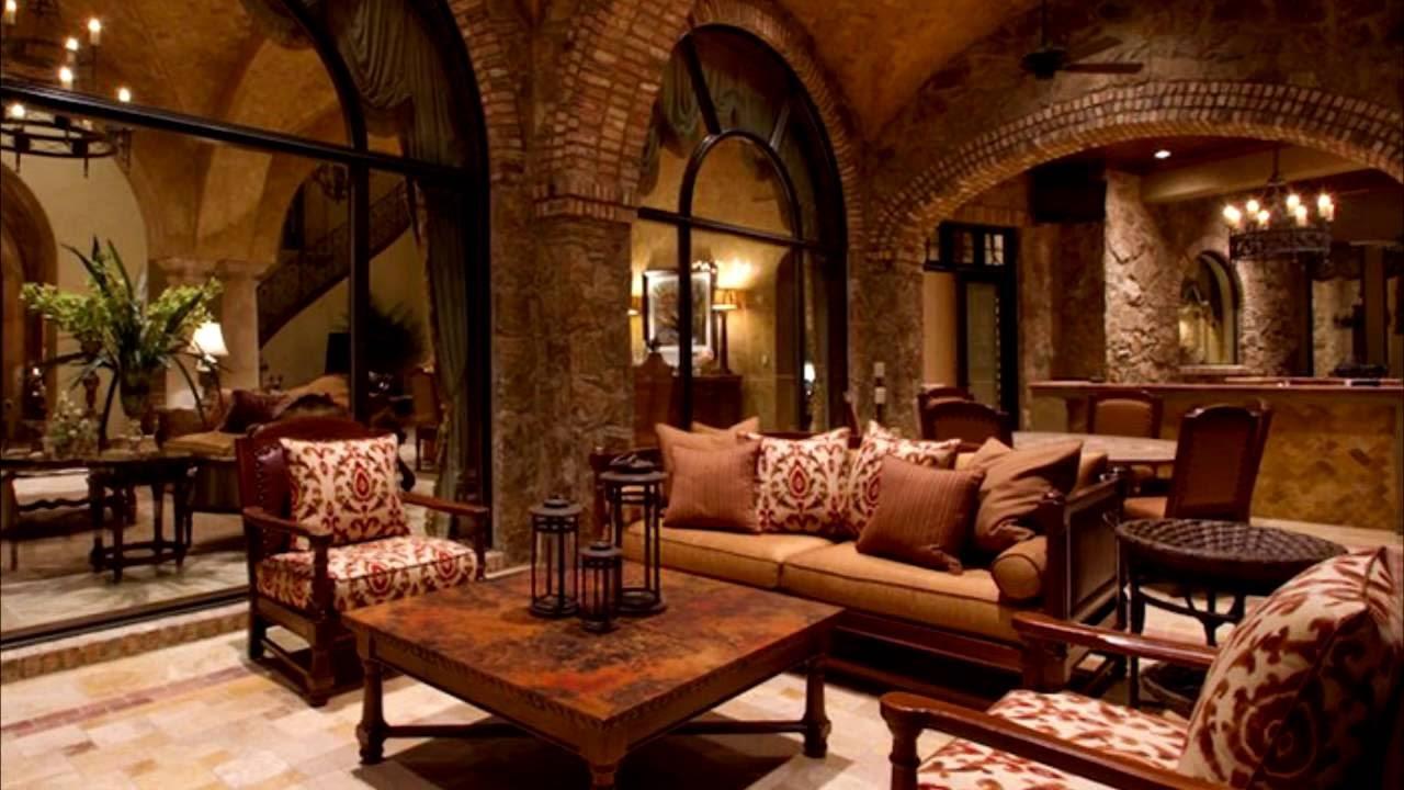 Комната в романском стиле
