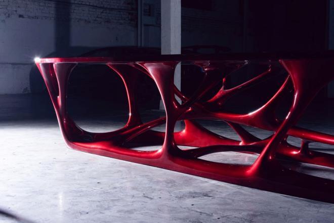 напечатанный на 3D принтере конференц стол