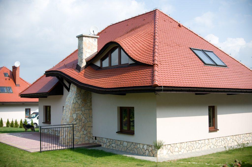 Мансардные крыши частных домов