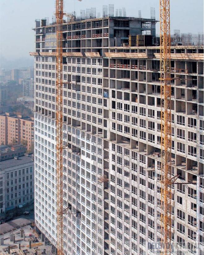 Монолитные высотные здания