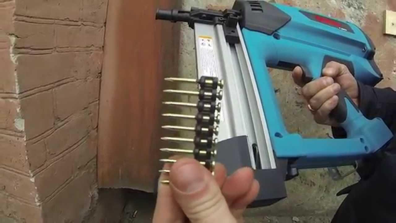 Пистолет для забивания гвоздей