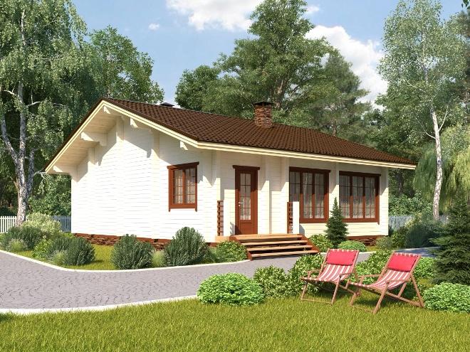 План одноэтажного дома. Достоинства и недостатки