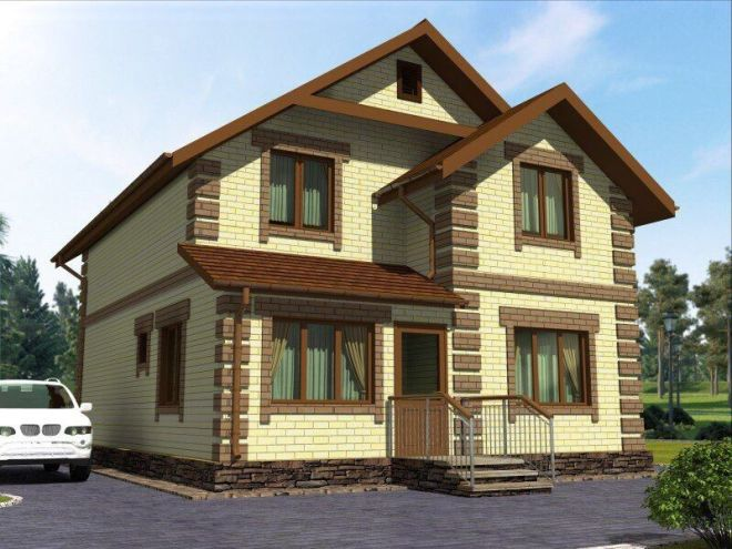 Двухэтажная модель