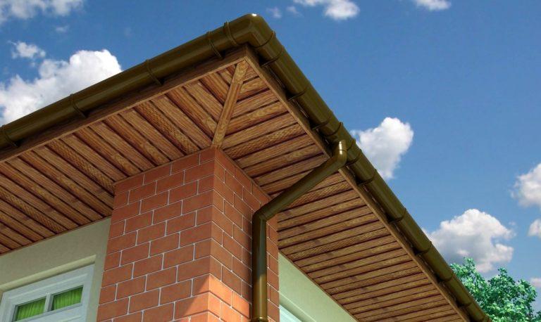 подшивка вальмовой крыши