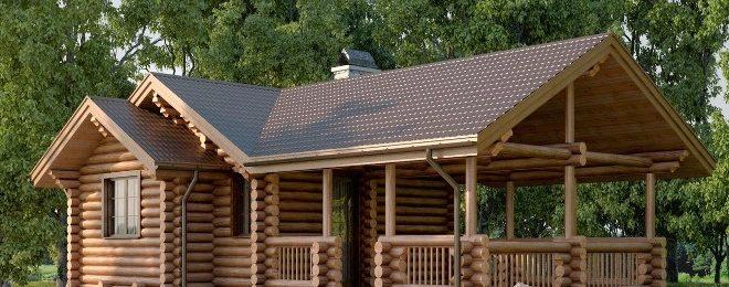 Проекты деревянных бань