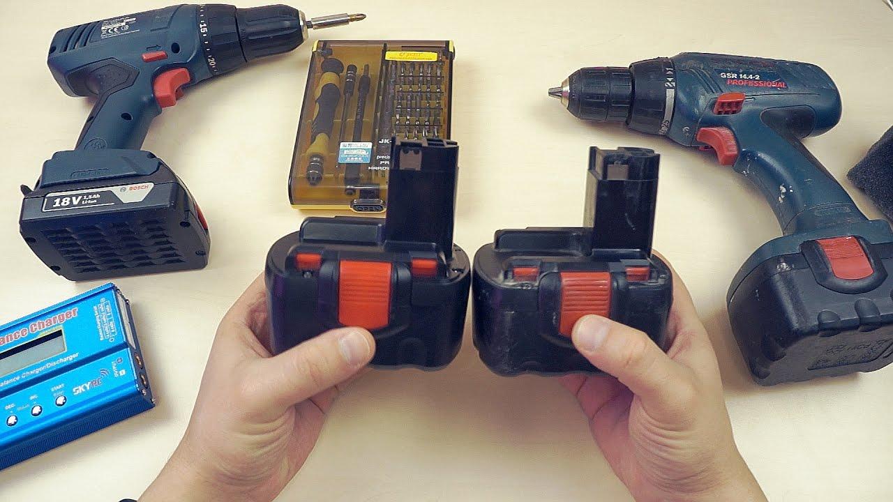 Шуруповерты с аккумуляторами