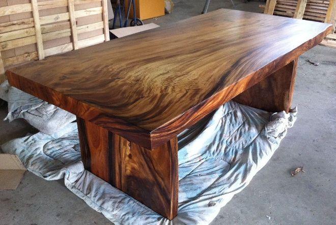 Тонировка стола из дерева своими руками