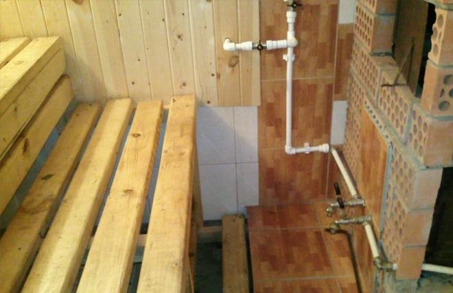Монтаж водопроводных труб и канализации
