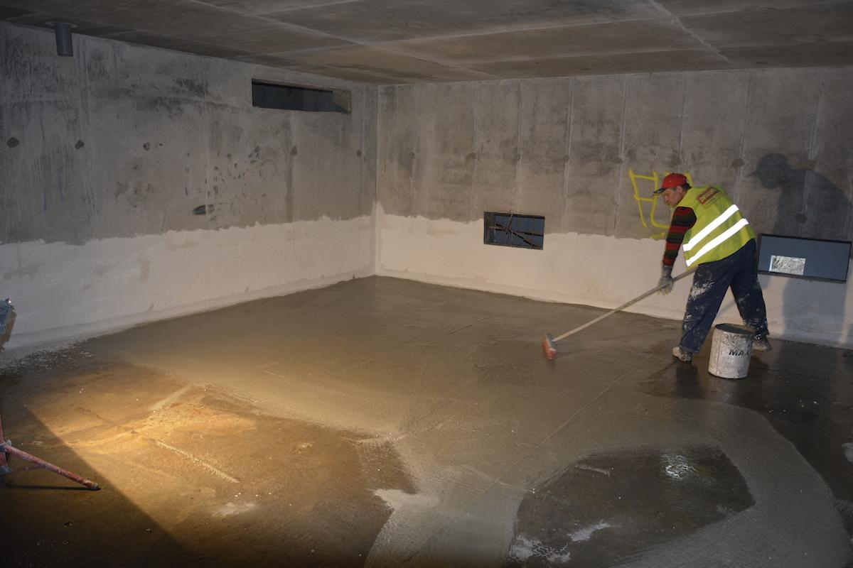 гидроизоляция цокольного помещения