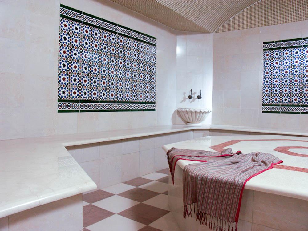 Керамическая плитка для турецкой бани