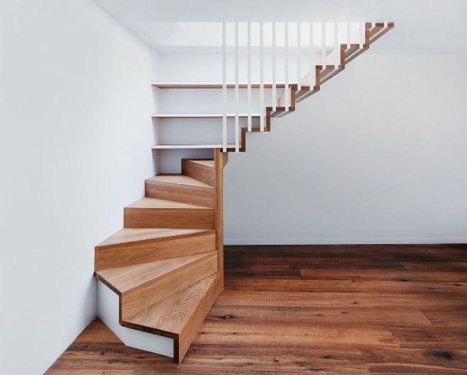 Деревянные лестницы на второй этаж