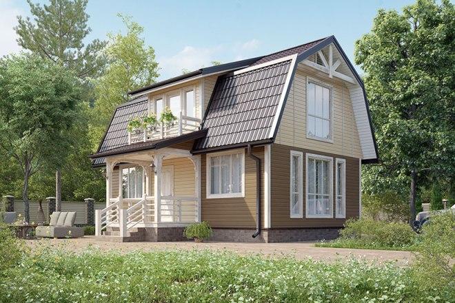 Проекты домов 6 на 9 и 6 на 6
