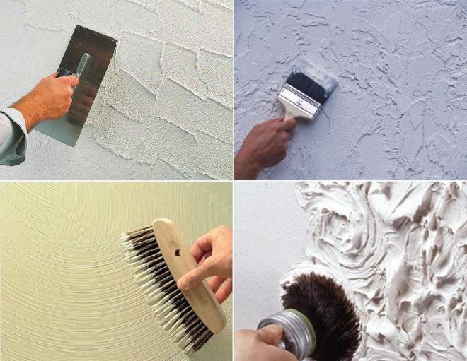 Фактурная штукатурка для стен