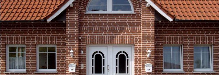 Фасад с клинкерной плиткой