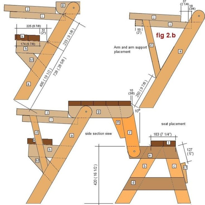 Как сделать раскладной стол своими руками