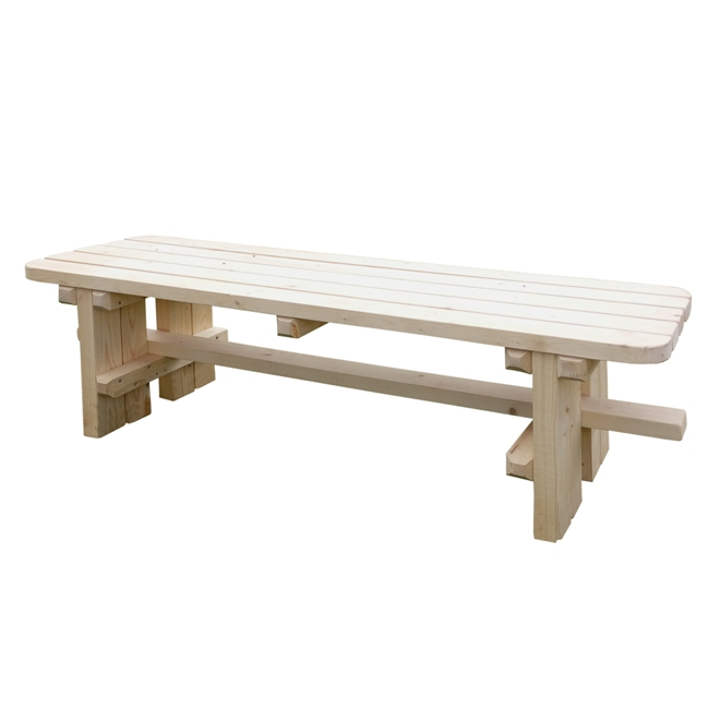 Как сделать скамейку в баню своими руками