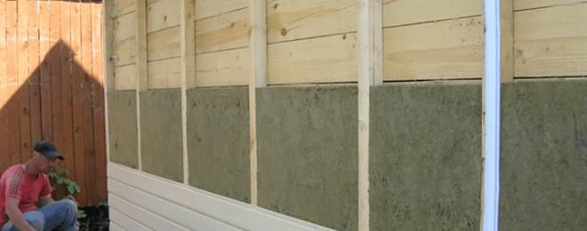 Как утеплить деревянный дом снаружи и чем