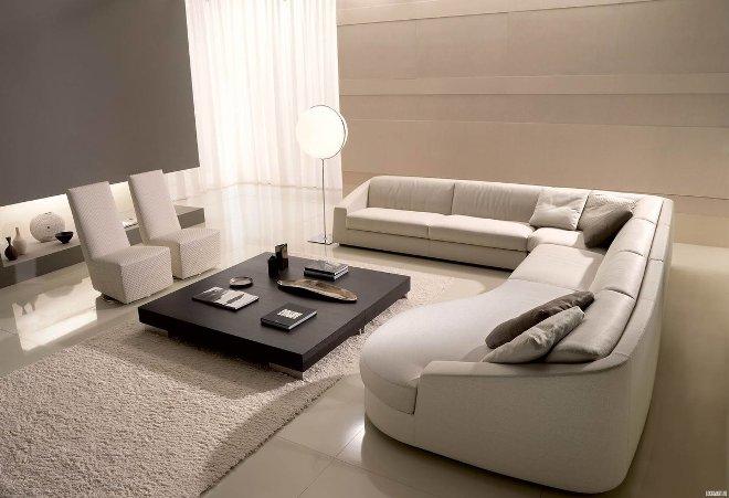 Красивые современные диваны
