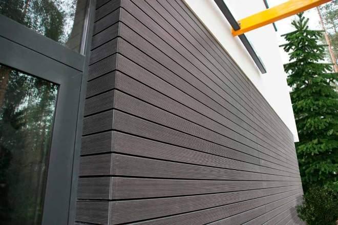 Облицовочные панели для фасада дома