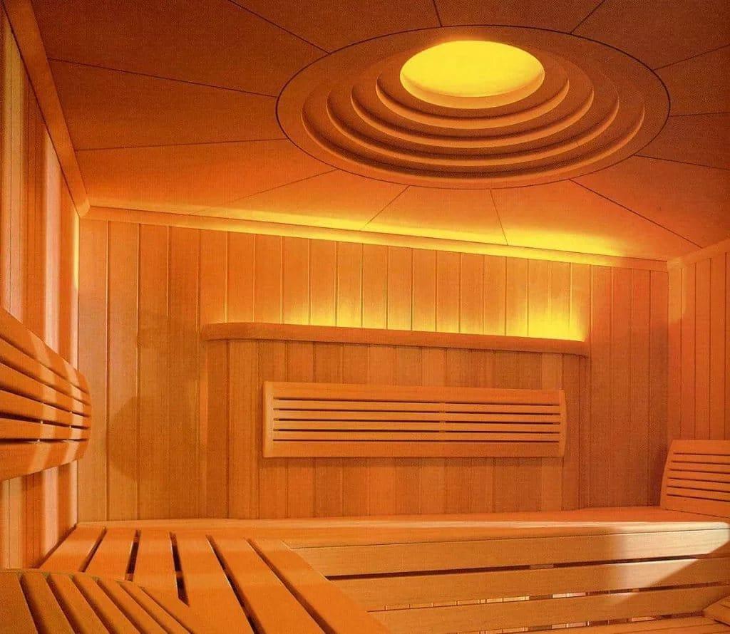 Потолочный светильник для бани