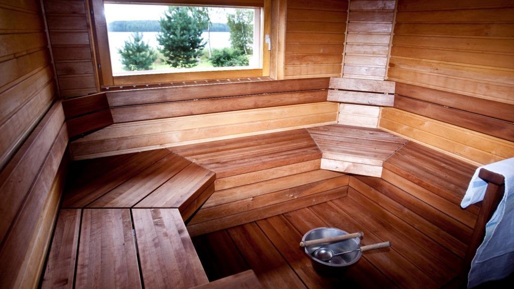 Самодельные полоки в бане