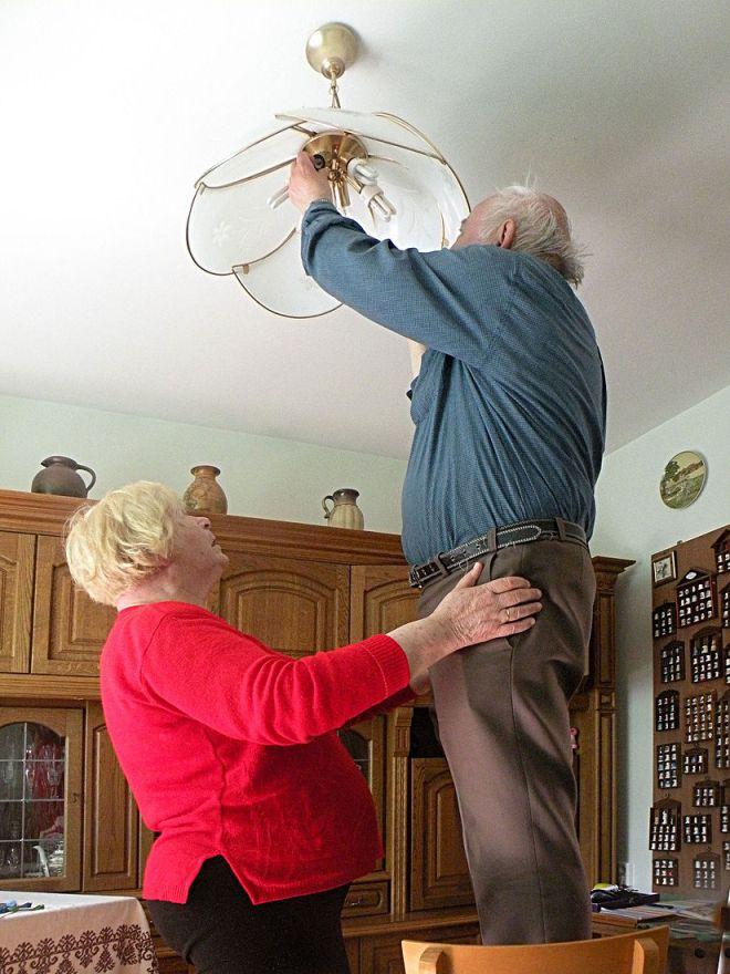 Дружелюбный интерьер для пожилых людей