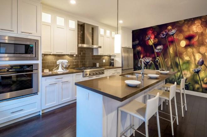 Фотообои на кухню