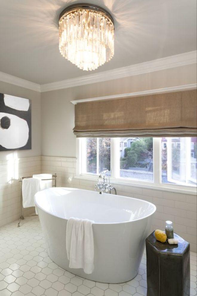 Изогнутые ванные – luxury стиль