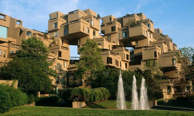 Необычная архитектура жилых комплексов