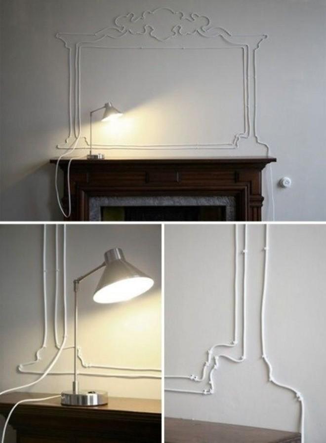 Что делать, если провода в квартире портят весь внешний вид жилья и делают общую картину непривлекательной?