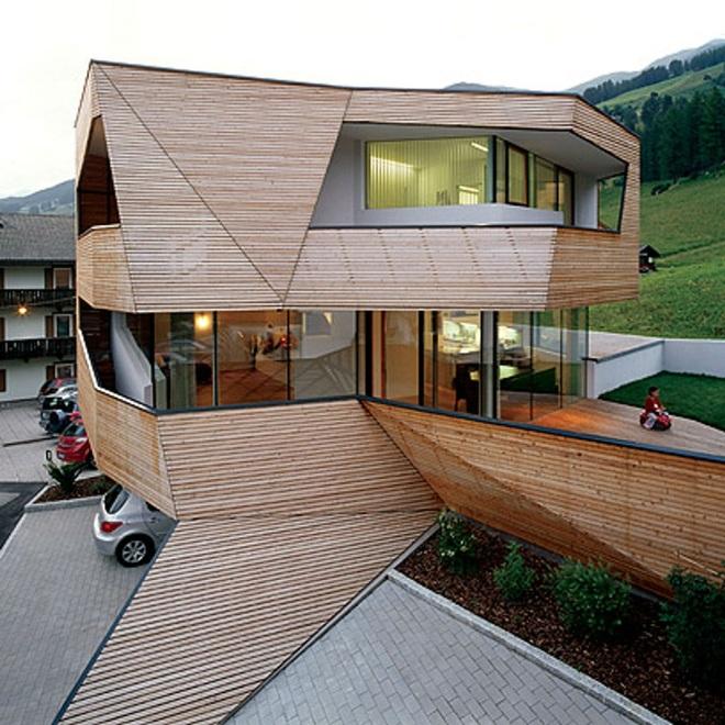 Своеобразные архитектурные решения для жилых домов