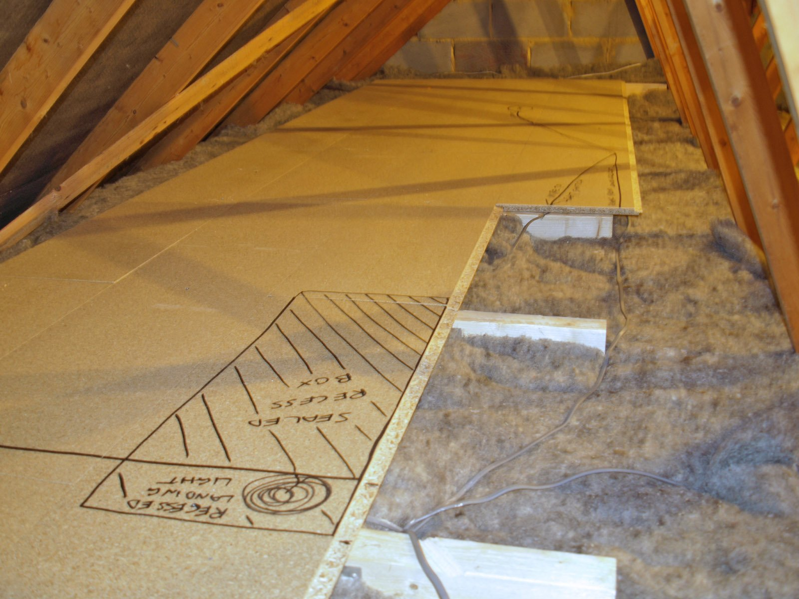 Утепление потолка парилки
