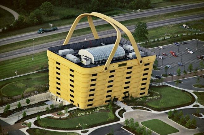 Здание в виде корзинки