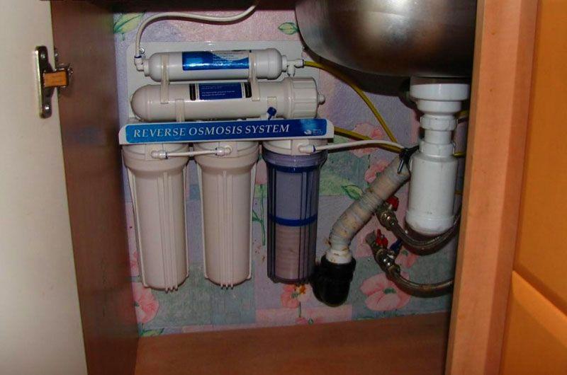 Фильтр обратного осмоса для воды под мойку