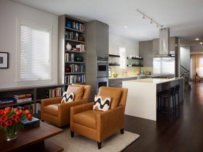 Идеи оформления кухни-гостиной