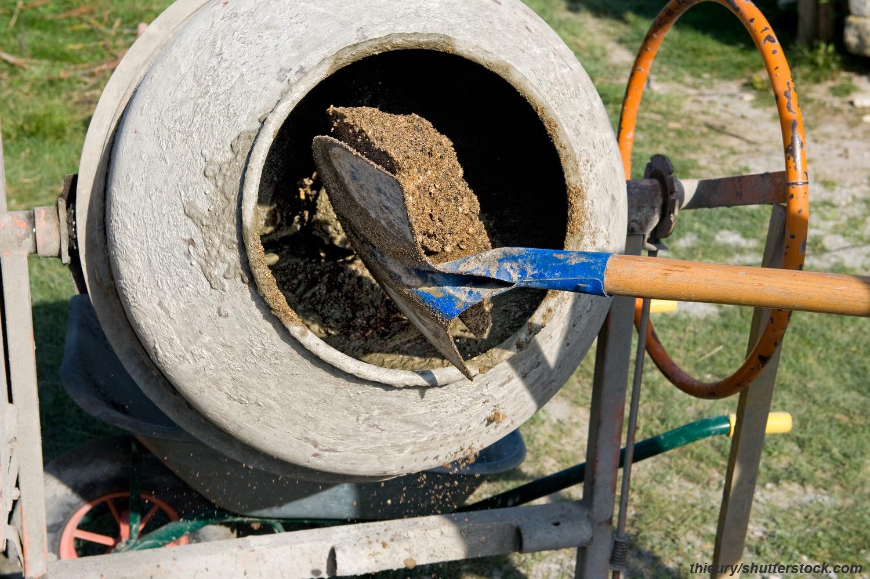 Изготовление бетона для фундамента